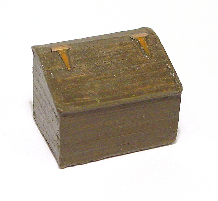 COAL/STORAGE BIN (1pc)  MilePost Models O/On3/On30 1:48-Scale